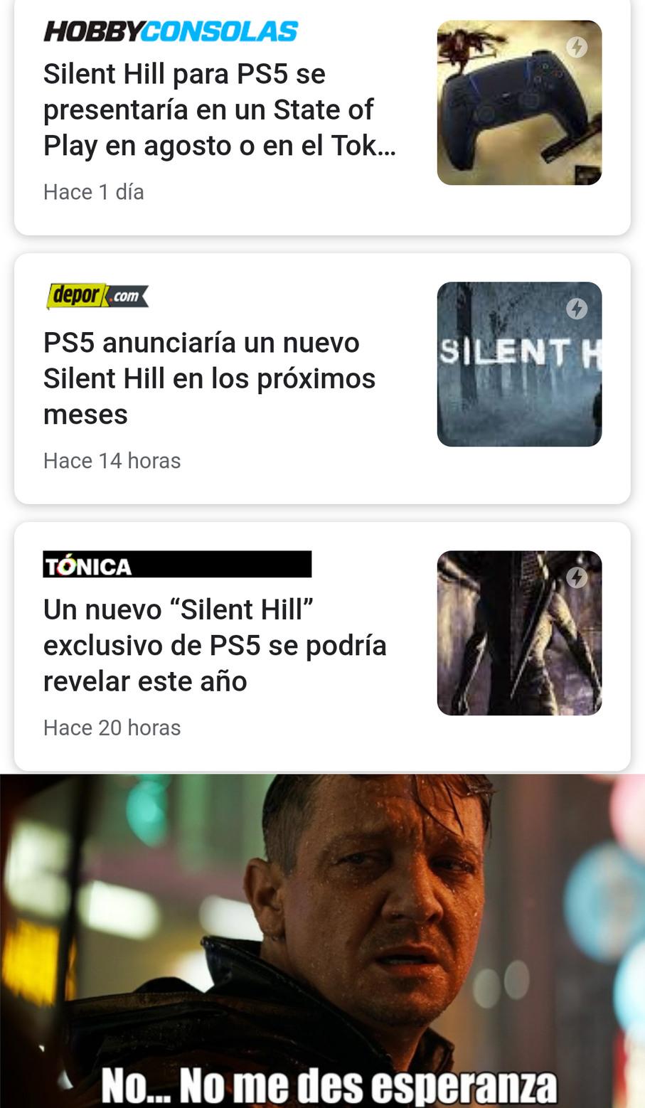 Silente Hill - meme