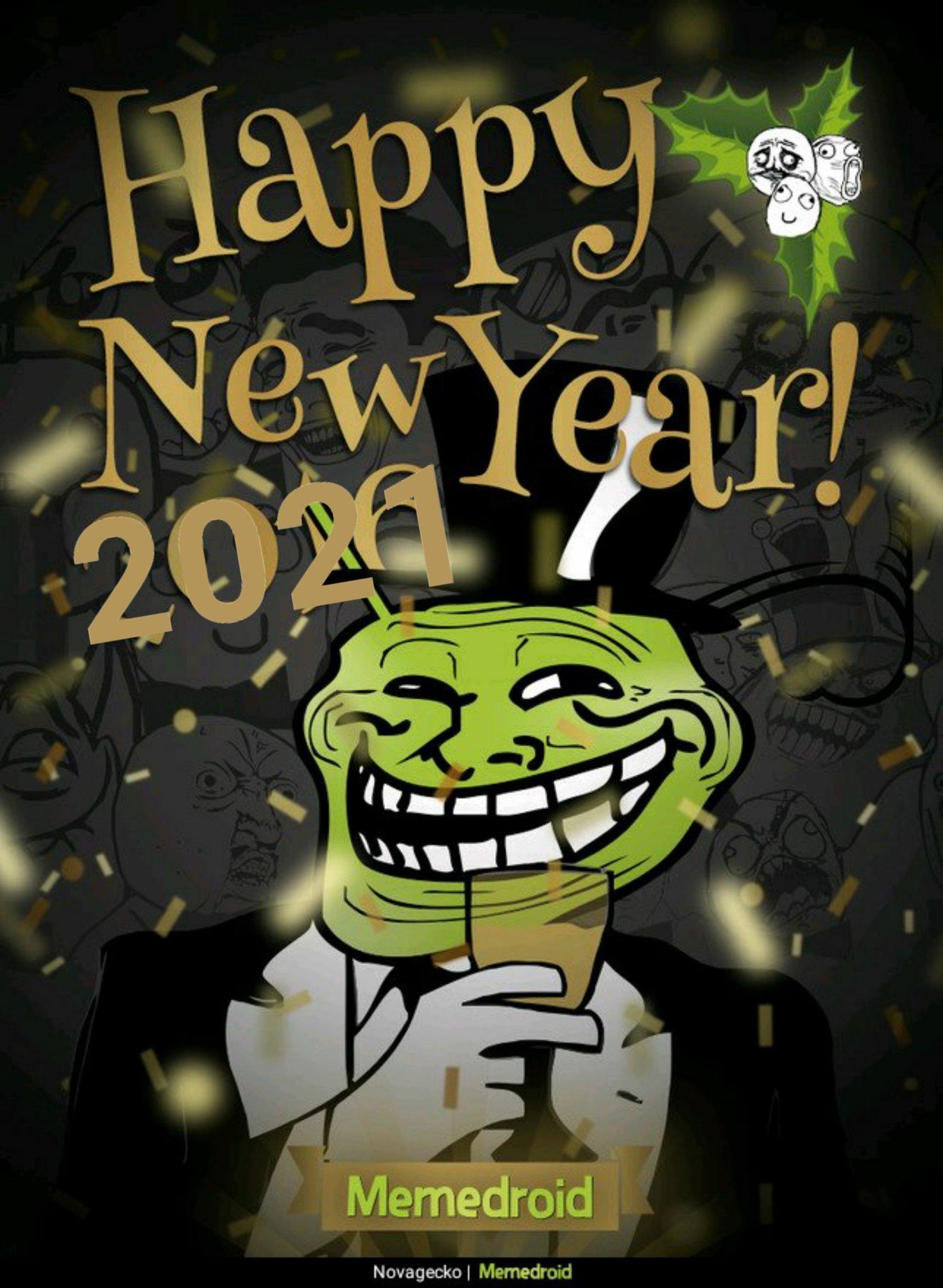 4444ème meme!  Bonne année memedroid !