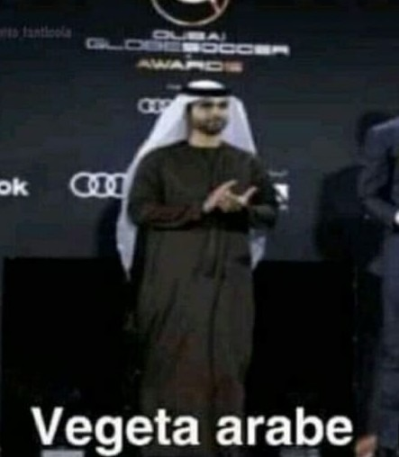 Vegeta Arabe :bomba: - meme