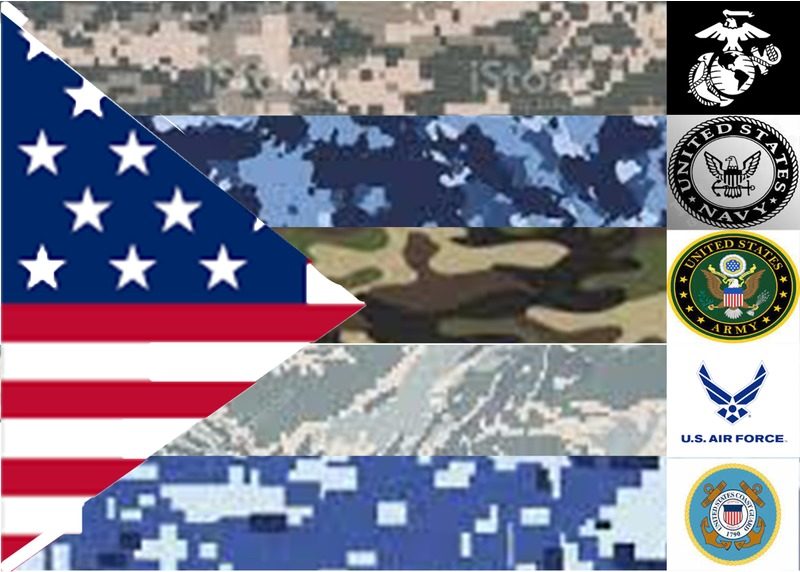 the military pride flag ( not for gay military personal ) - meme