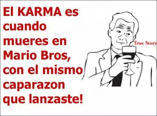 karma - meme