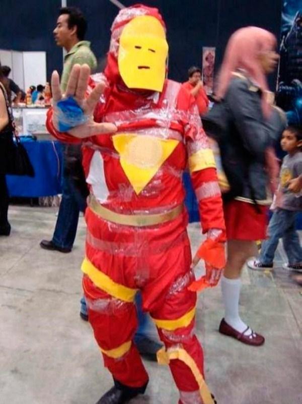 el mejor disfraz de Iron Man//fiesta de negativos - meme
