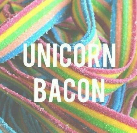 bacon de licorne - meme