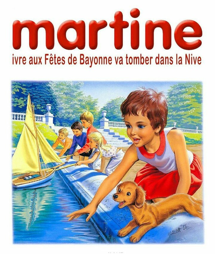 Martine au Pays Basque - meme