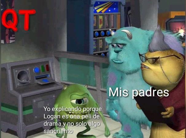 Pobre Logan - meme