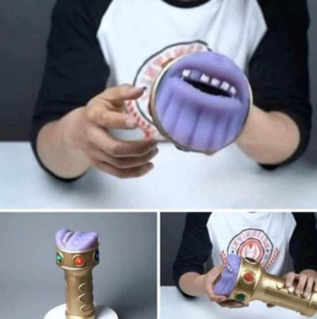 Thanos mamada - meme