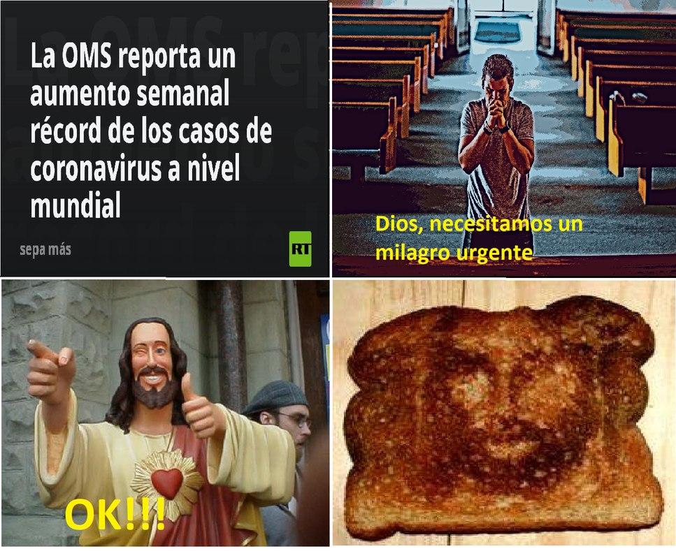 Milagro - meme