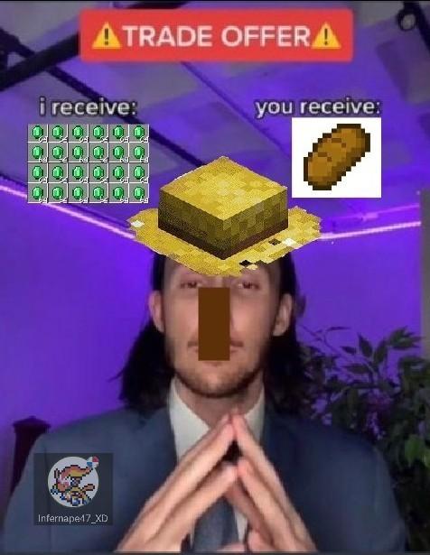 When minecraf - meme