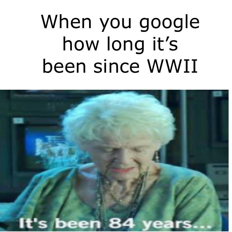 Yes it has - meme