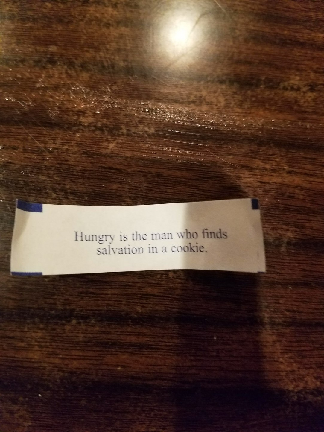 Found in a fortune cookie that we just ate at - meme
