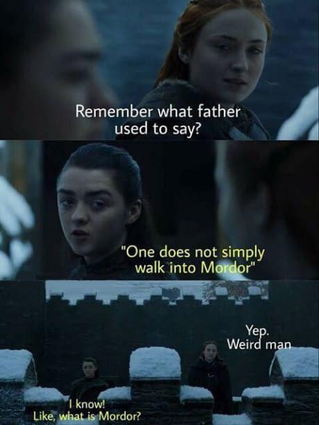 Boromir Stark - meme