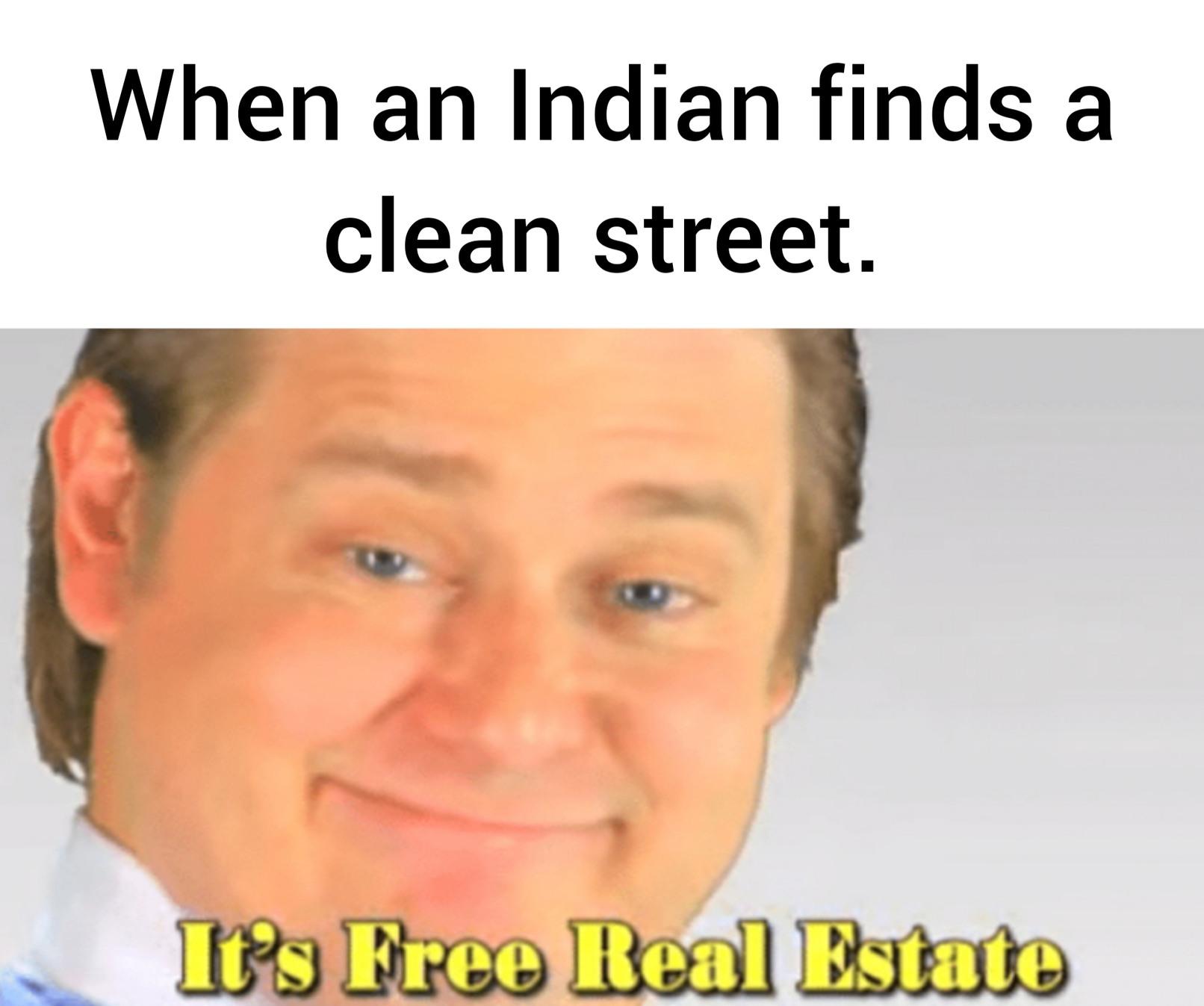 Designated shitting street - meme