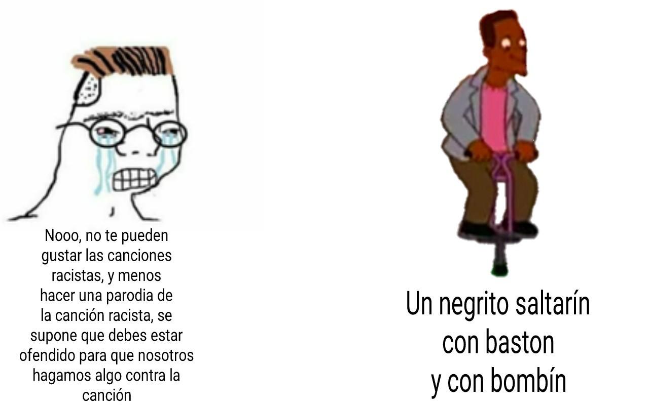 Solo lo entenderan los que vieron el episodio con doblaje latino - meme