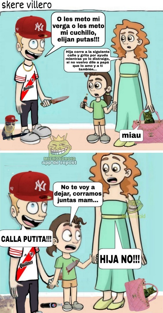 Villero = lacra - meme