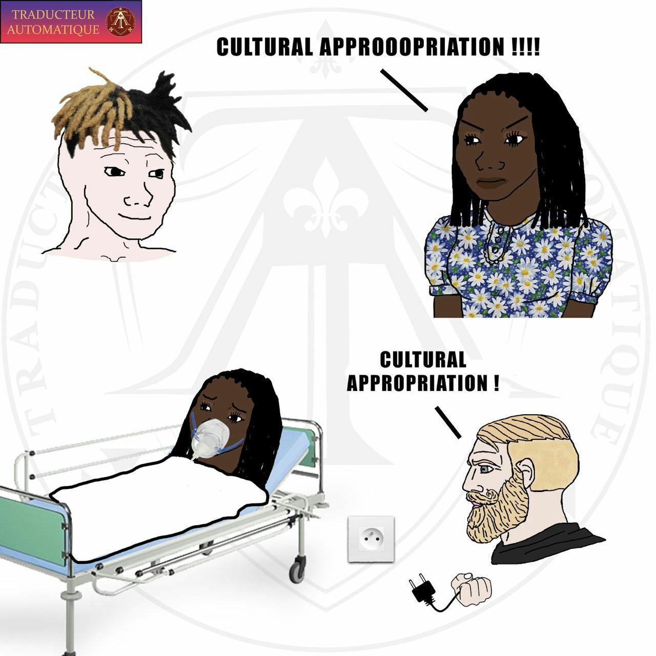 Engraçado que nenhum negro que odeia branco quer voltar para a Africa - meme