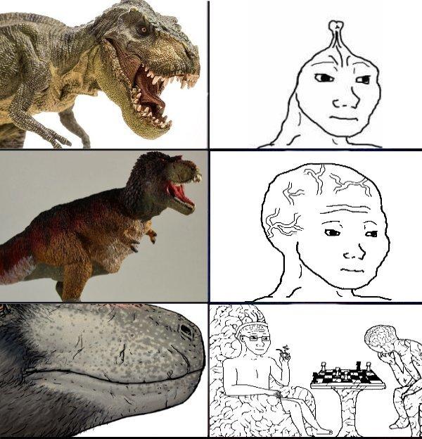 lloren fanaticos de jurassic park - meme