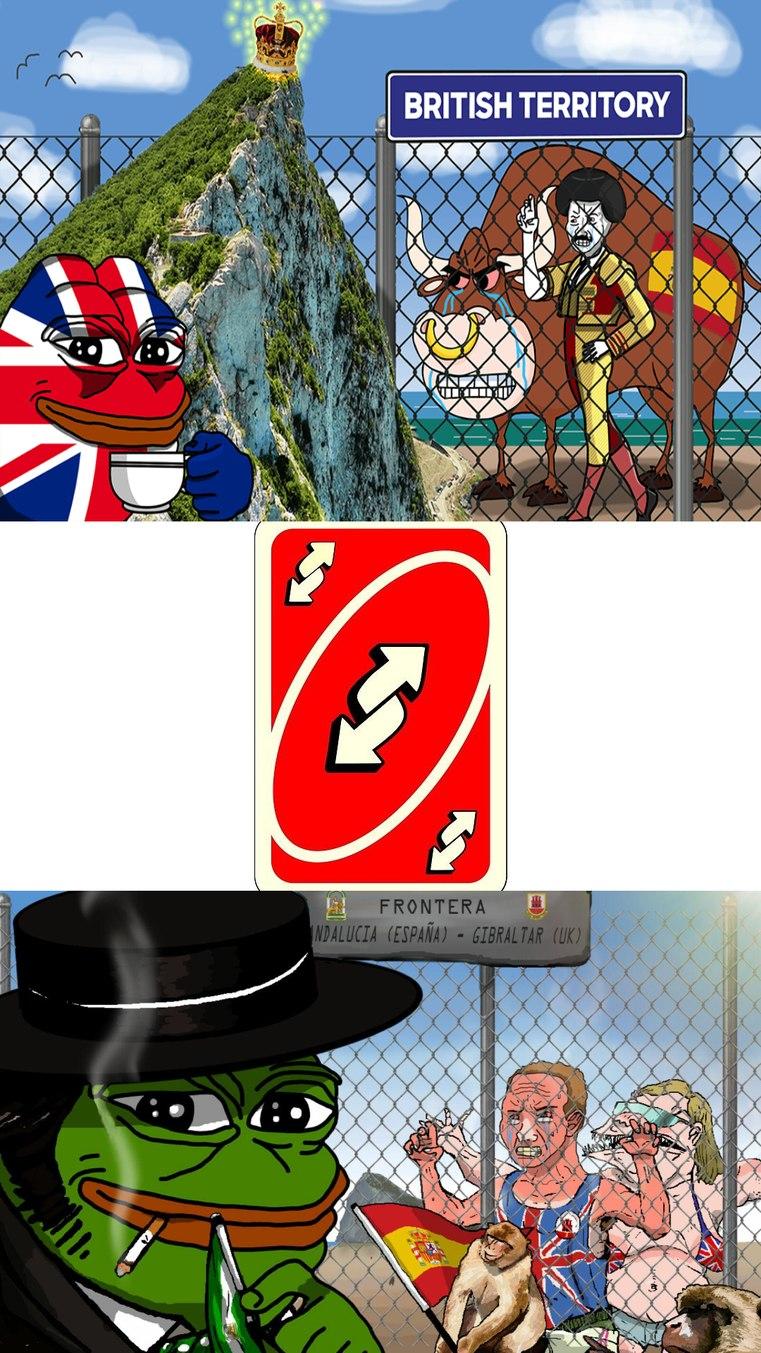 Gibraltar - meme