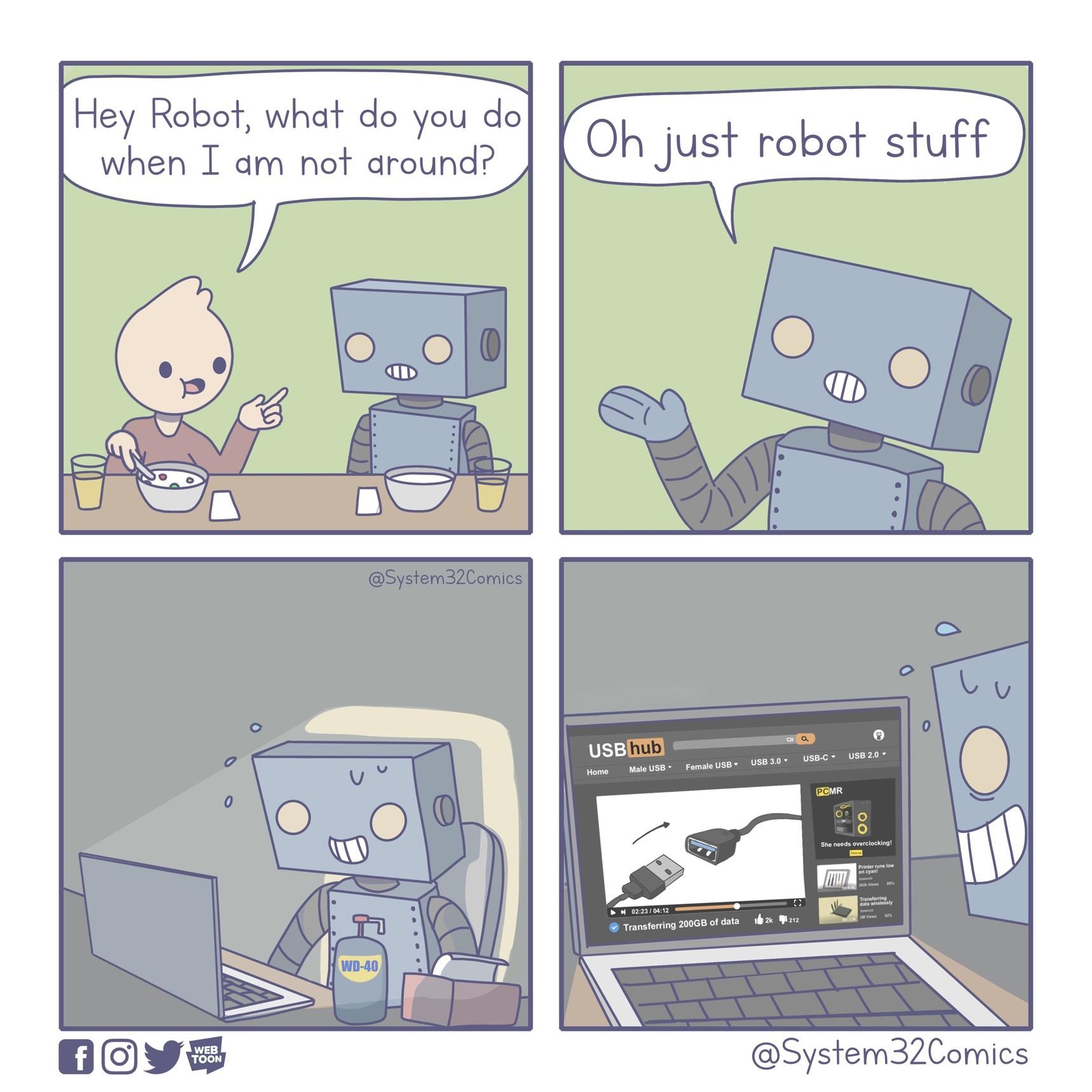 Just Robot Stuff - meme