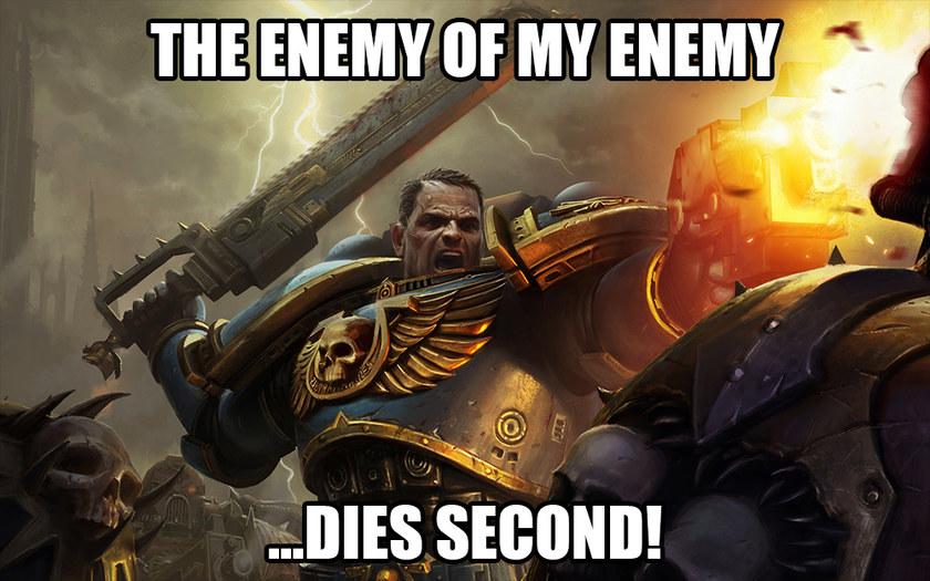 FOR THE EMPEROR - meme