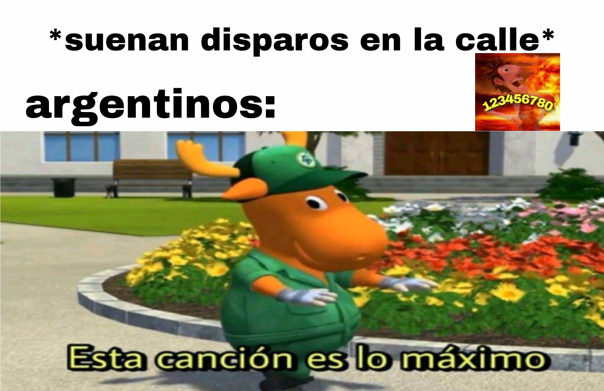 Buenarda la cancion - meme