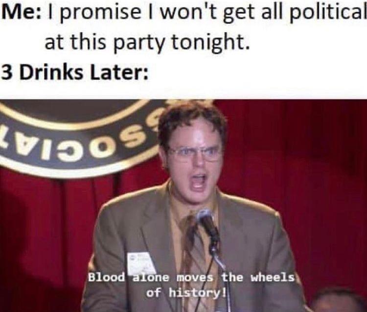 blood must spill - meme