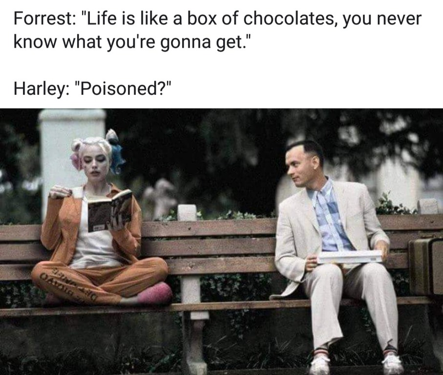 Chocolate poison - meme