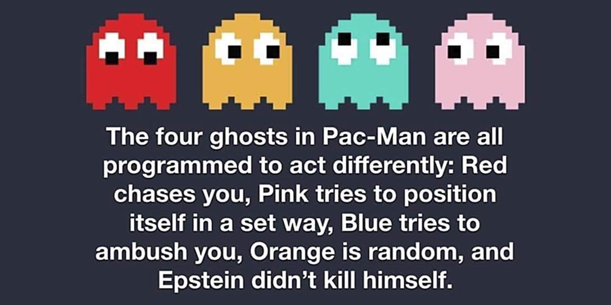 Cool Pac-man Facts - meme