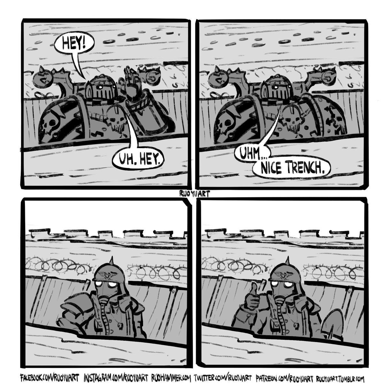 Nice trench - meme