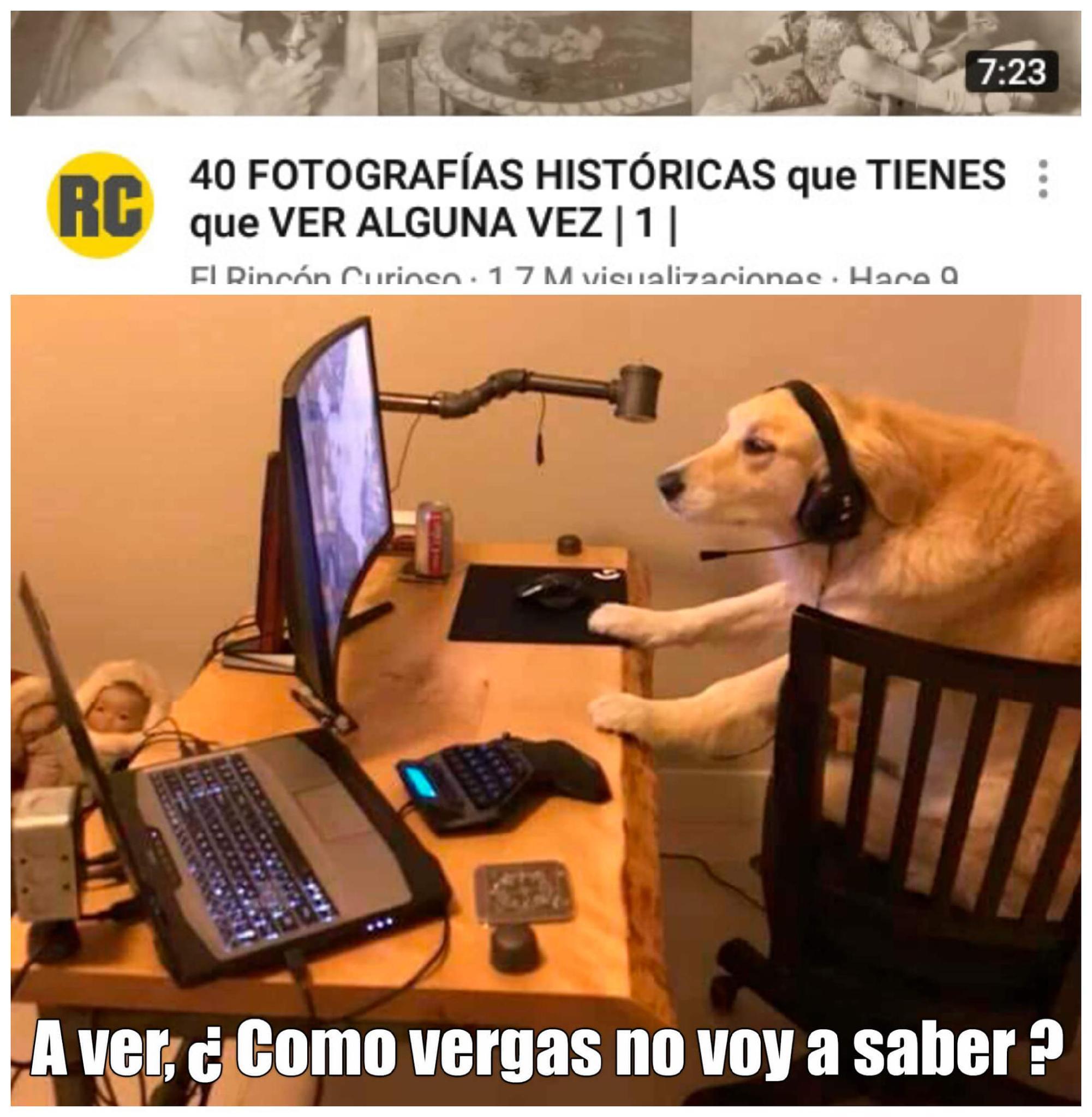 Mira el video - meme