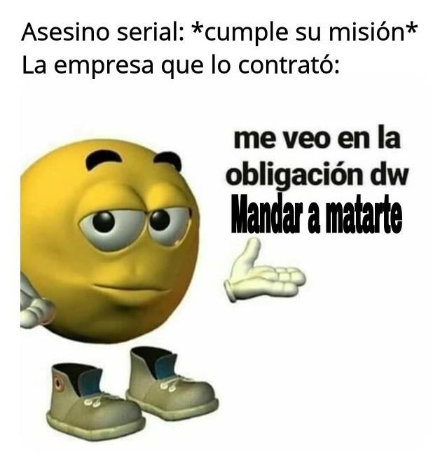 Peliculas de Acción be like: - meme