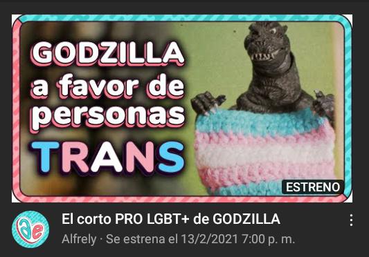 Godzilla es asexual bien y eso que mierda tiene que ver con los trans? - meme