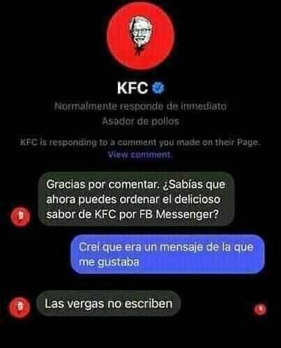 Grande el KFC - meme