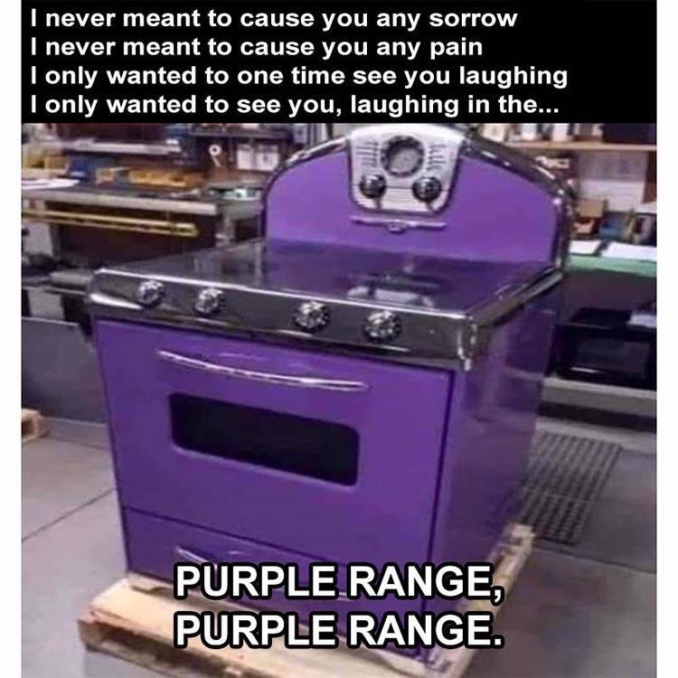 purple range - meme