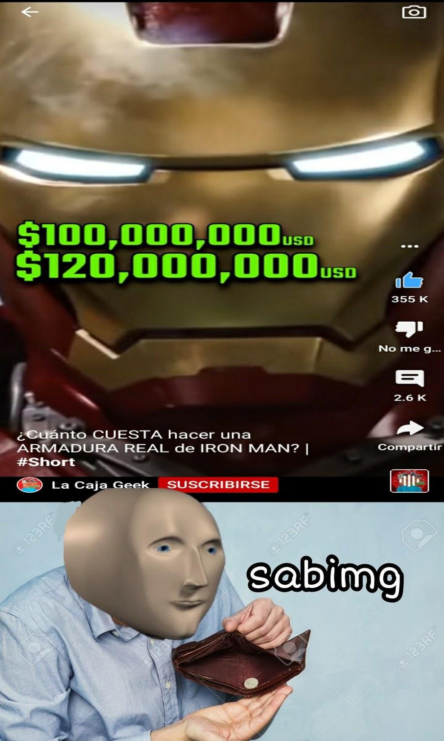 Sabimg = Saving = Ahorrando.  :cool: - meme
