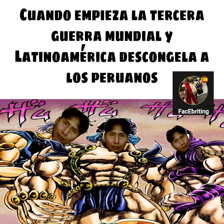 Peruanos una raza superior - meme