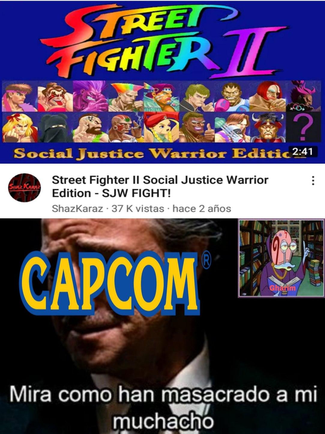 Progre Fighters II - meme