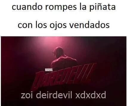 Daredevil - meme