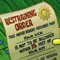 I have a restraining order against Berq