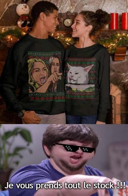 Si vous manquez d'idées de cadeaux pour Noël :) - meme