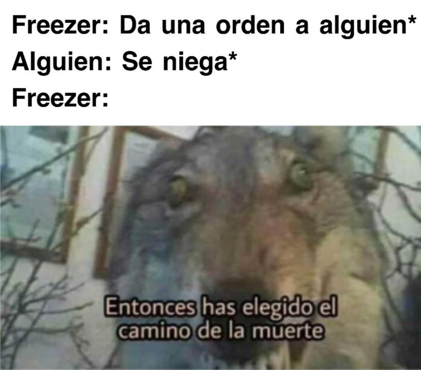 Freezeeeeeeeeeeer! - meme