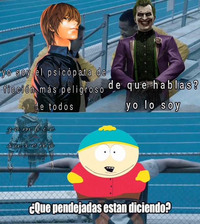 Cartman si que es un hijo de puta XD - meme