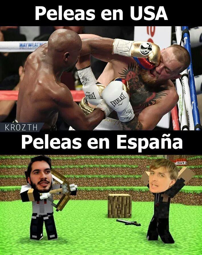 España vs USA - meme