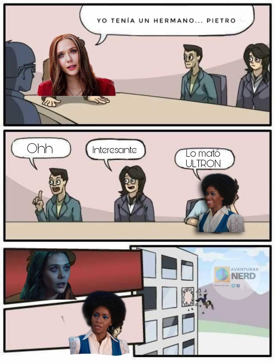 Wandavision Episodio 3 - meme