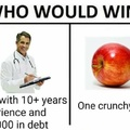 Green Apples are better