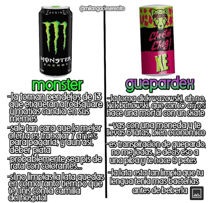 The virgin monster va the chad guepardex - meme