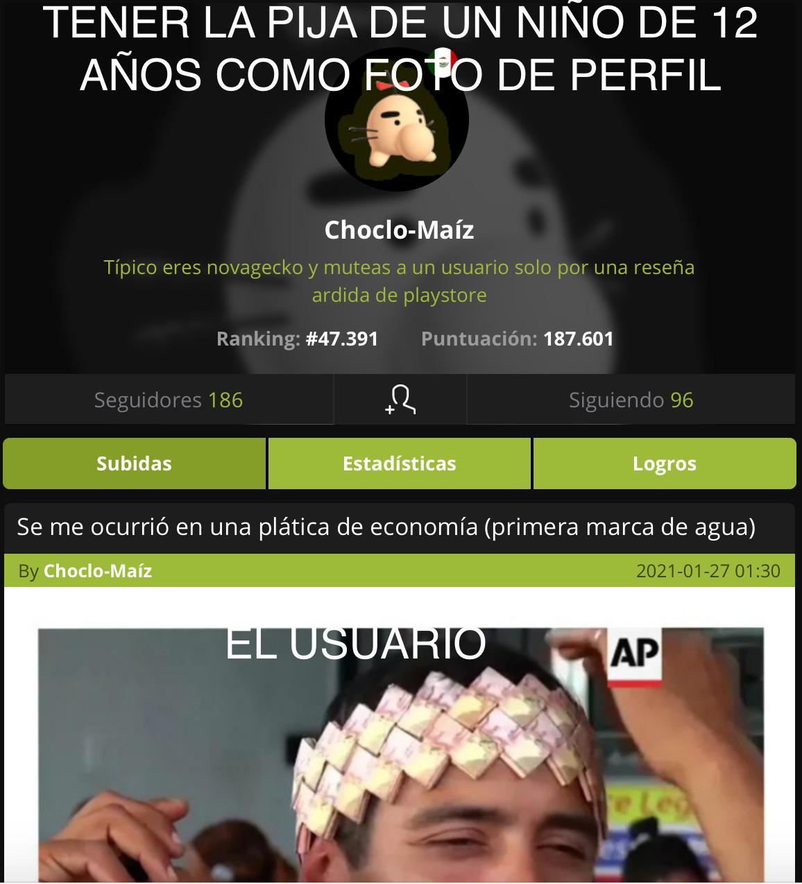 CHOCLO-MAIZ - meme