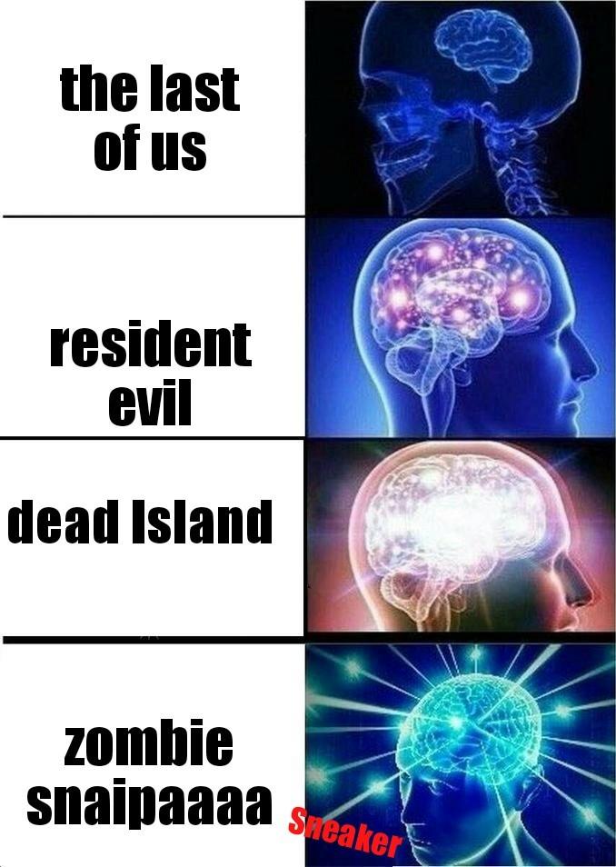 Zombie snaipaaa - meme