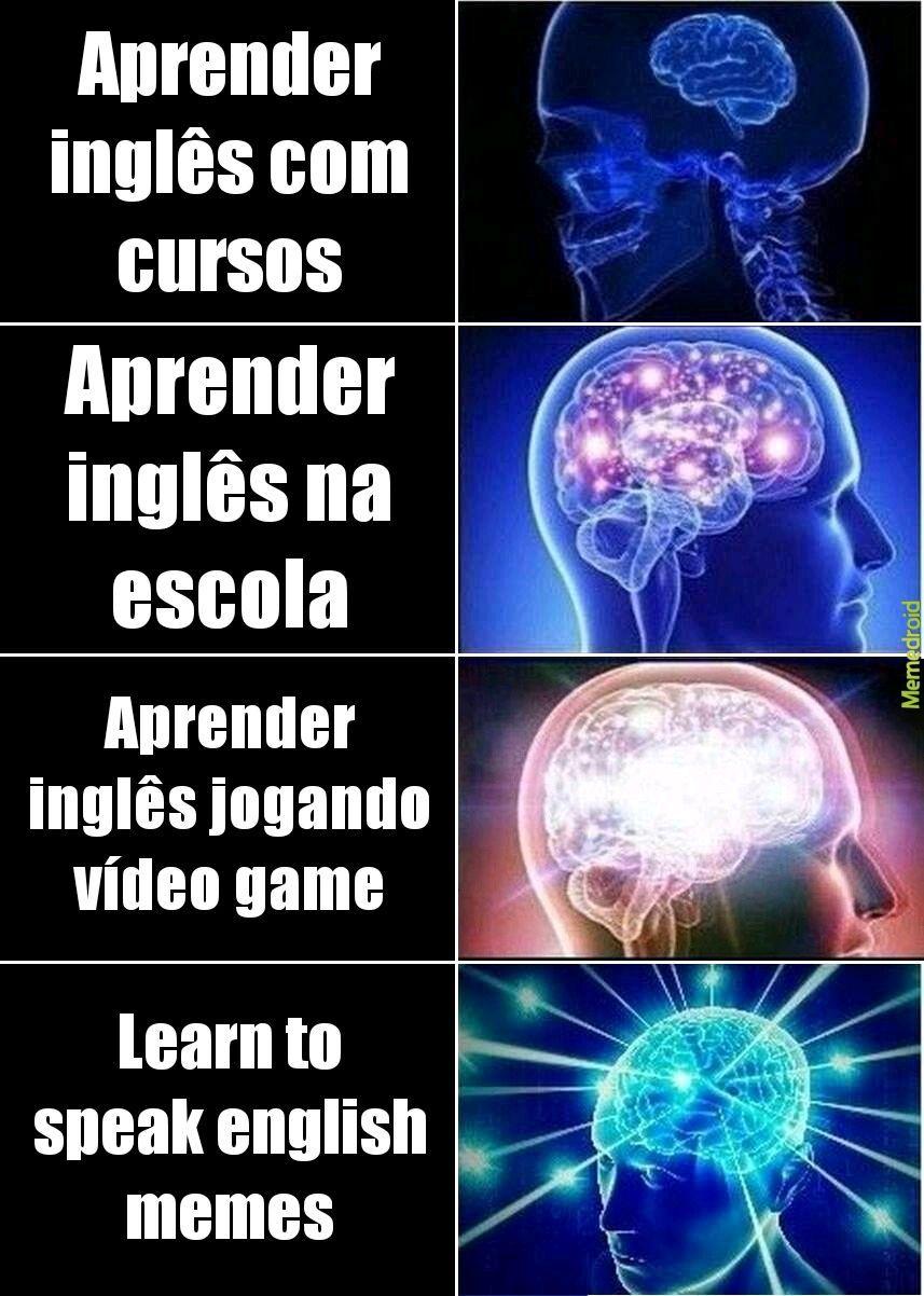 Trabalho de Inglês - meme