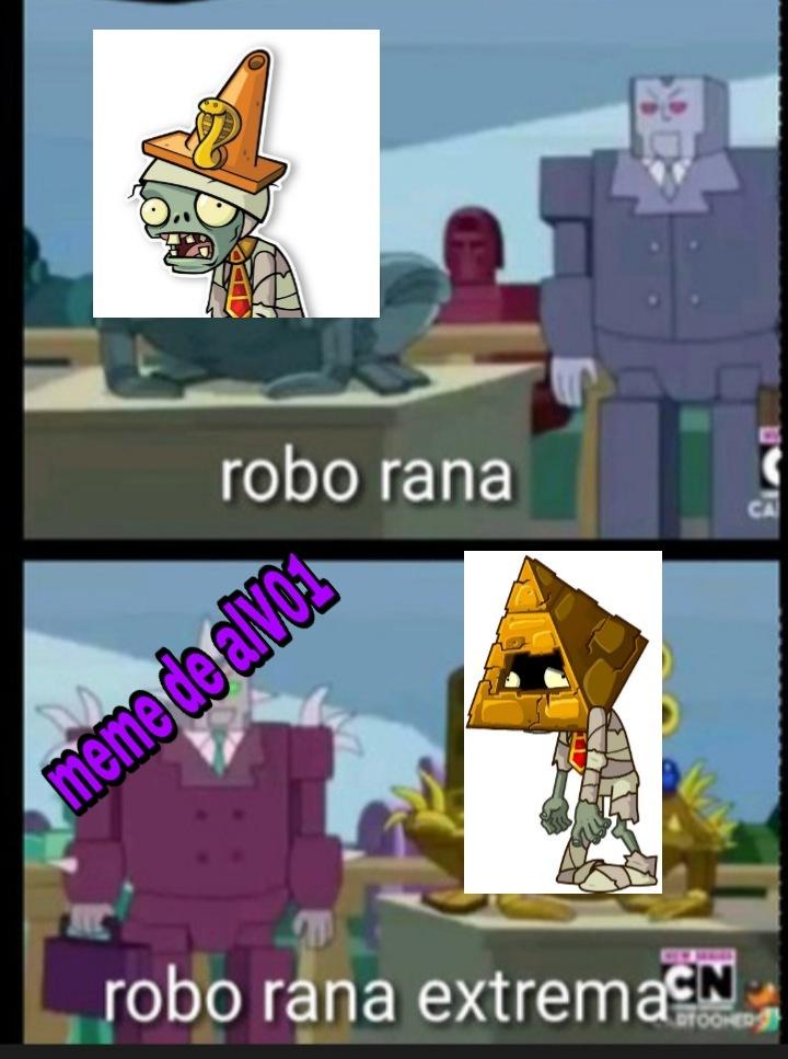 Pvto zombie piràmide - meme