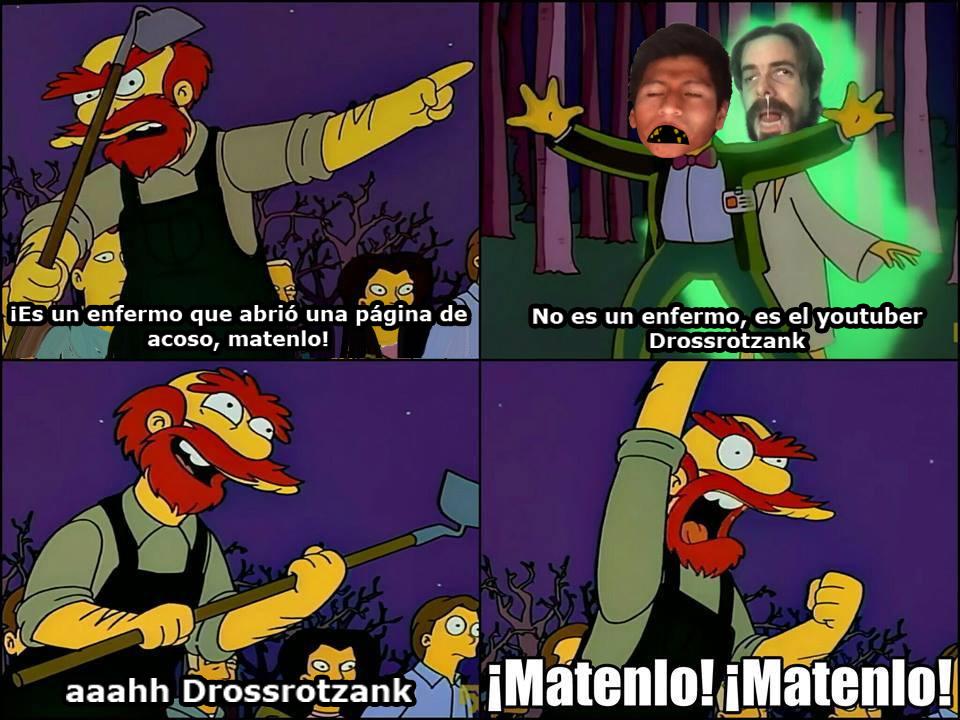 Defendiendo a mi papito DROSSROTZANK - meme